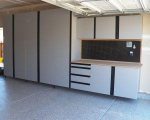 Gray Cabinets w/ Full Pulls